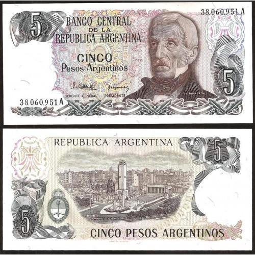 ARGENTINA 5 Pesos...