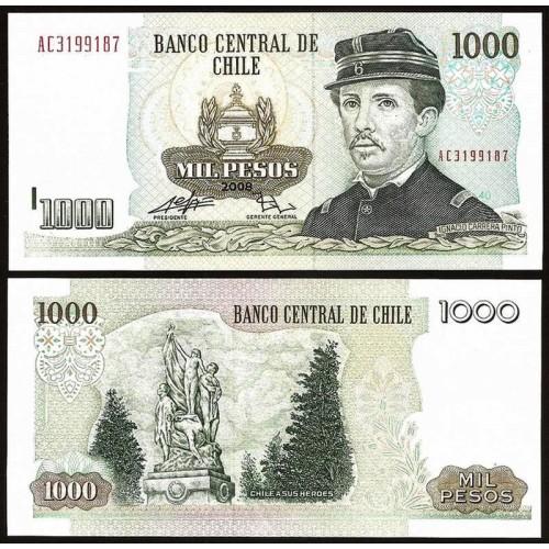 CHILE 1000 Pesos 2008