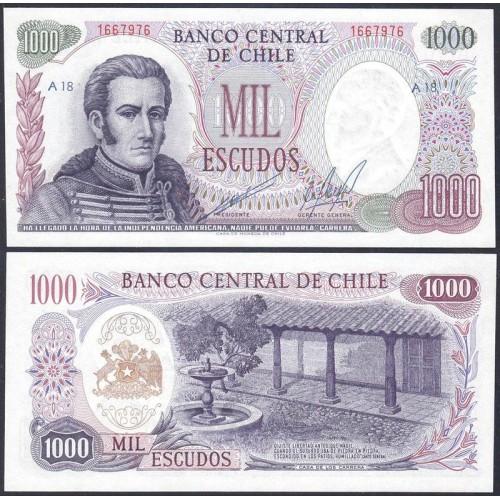 CHILE 1000 Escudos 1971