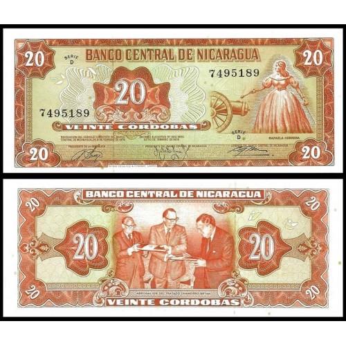 NICARAGUA 20 Cordobas 1978
