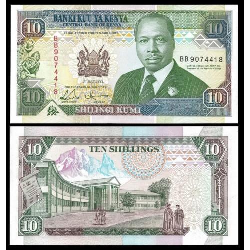 KENYA 10 Shillings 1993