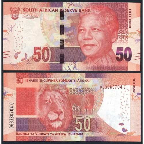 SOUTH AFRICA 50 Rand 2014