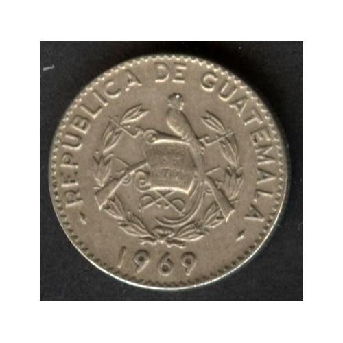 GUATEMALA 5 Centavos 1969