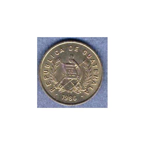 GUATEMALA 1 Centavo 1986