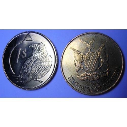 NAMIBIA 1 Dollar 1993