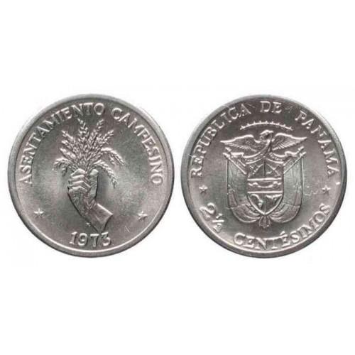 PANAMA 2 1/2 Centesimos...