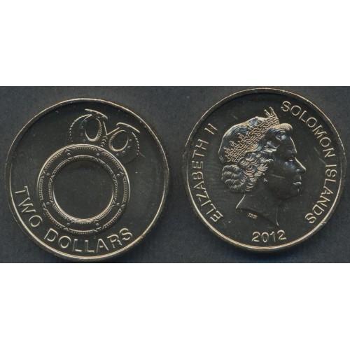 SOLOMON ISLANDS 2 Dollars 2012