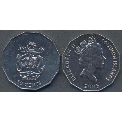 SOLOMON ISLANDS 50 Cents 2005