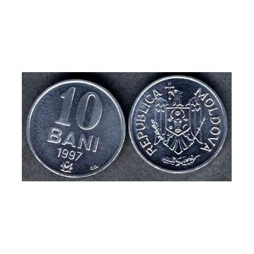 MOLDOVA 10 Bani 1997