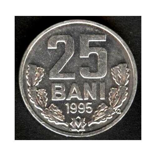 MOLDOVA 25 Bani 1995