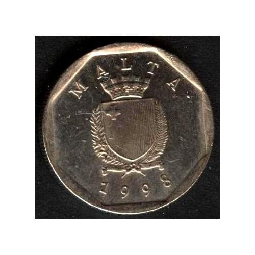 MALTA 5 Cents 1998