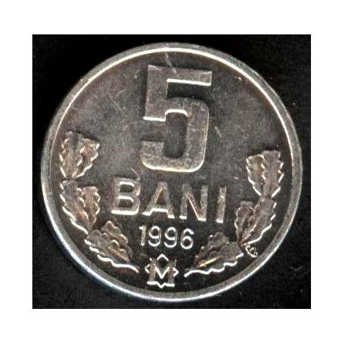 MOLDOVA 5 Bani 1996