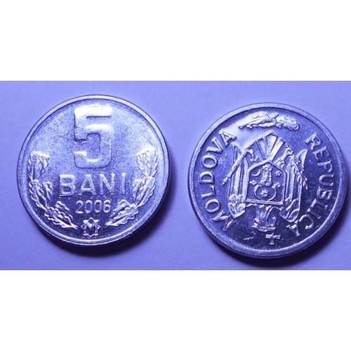 MOLDOVA 5 Bani 2006
