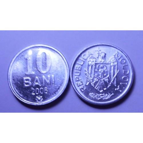 MOLDOVA 10 Bani 2006