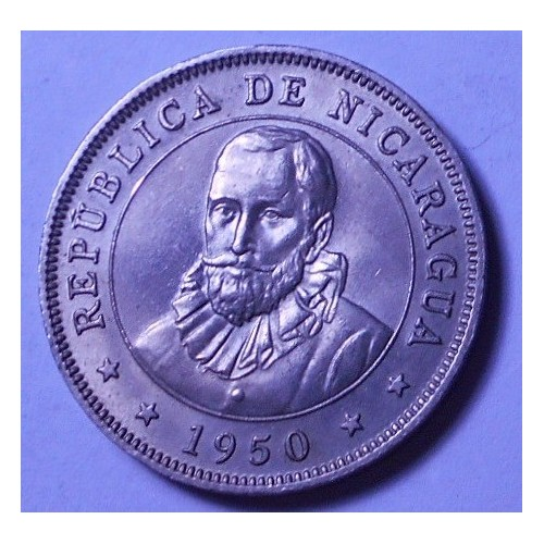 NICARAGUA 50 Centavos 1950