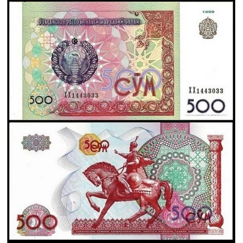 UZBEKISTAN 500 Sum 1999