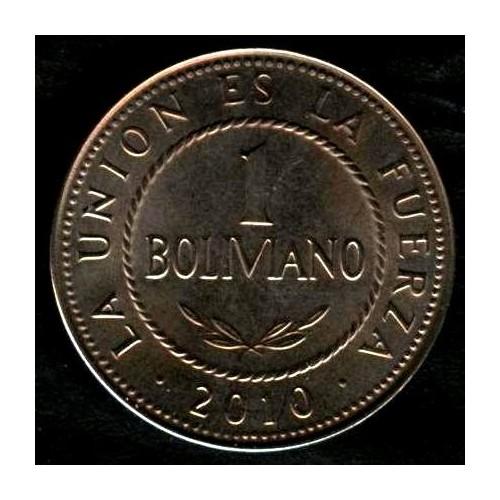 BOLIVIA 1 Boliviano 2010