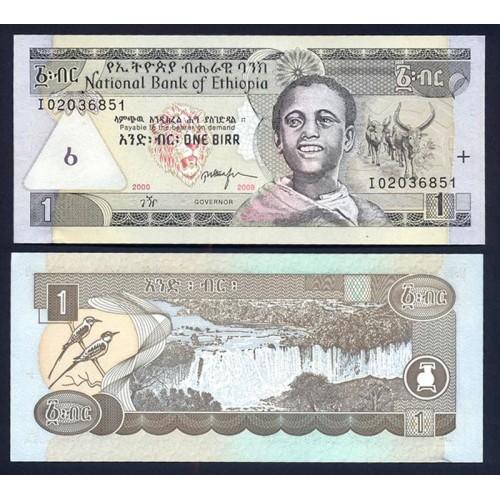 ETHIOPIA 1 Birr 2008