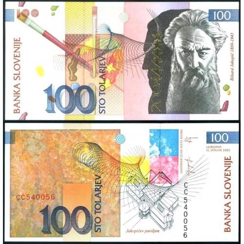 SLOVENIA 100 Tolarjev 2003...
