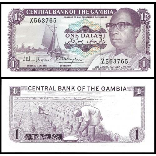 GAMBIA 1 Dalasi 1972