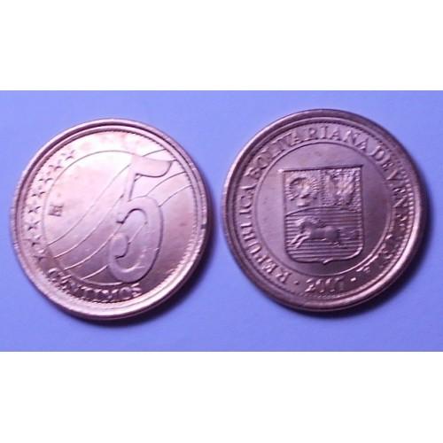 VENEZUELA 5 Centimos 2007