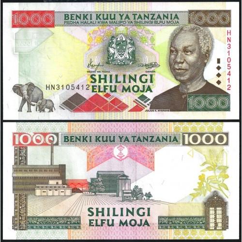 TANZANIA 1000 Shilingi 2000