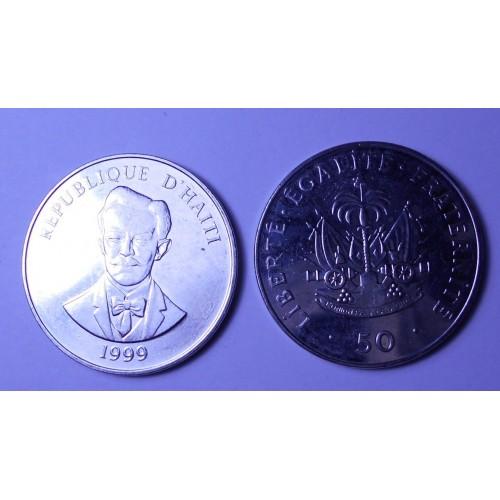 HAITI 50 Centimes 1999 C....