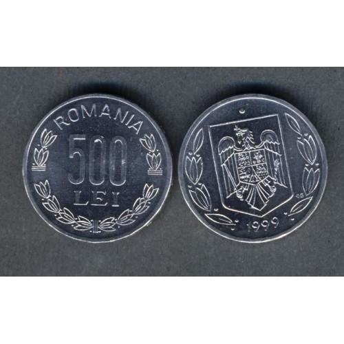 ROMANIA 500 Lei 1999