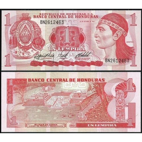 HONDURAS 1 Lempira 1984