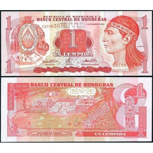 HONDURAS 1 Lempira 2000