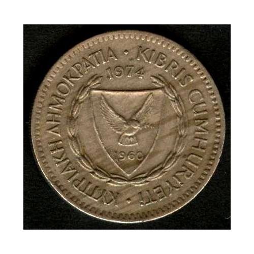 CYPRUS 50 Mils 1974
