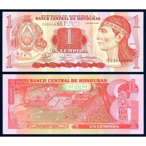 HONDURAS 1 Lempira 2008