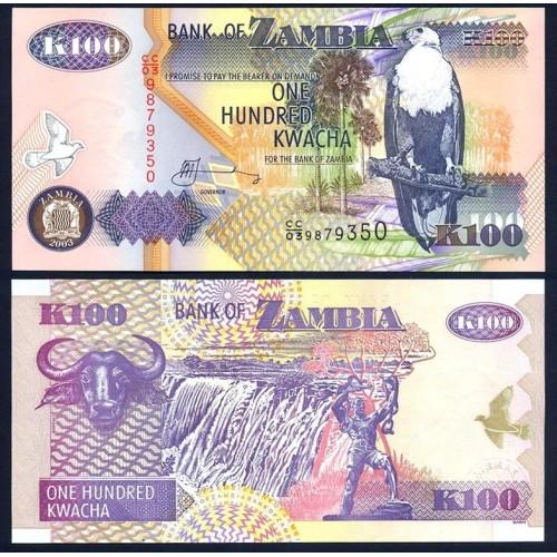 ZAMBIA 100 Kwacha 2003