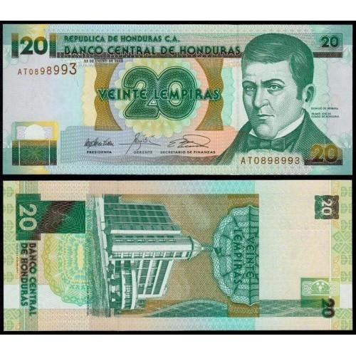 HONDURAS 20 Lempiras 2003
