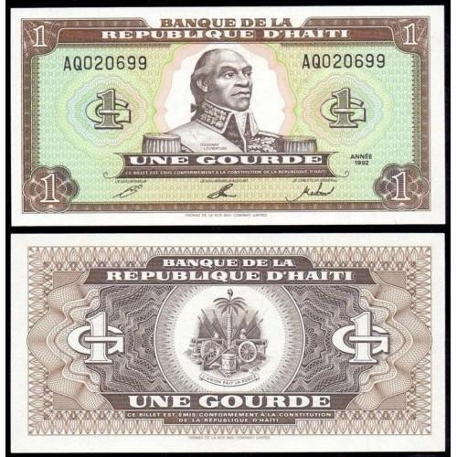 HAITI 1 Gourde 1992