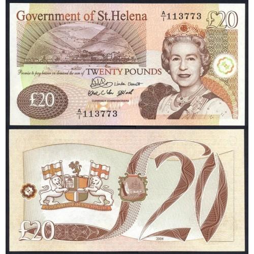SAINT HELENA 20 Pounds 2004