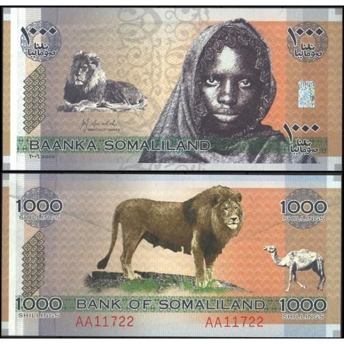 SOMALILAND 1000 Shillings 2006