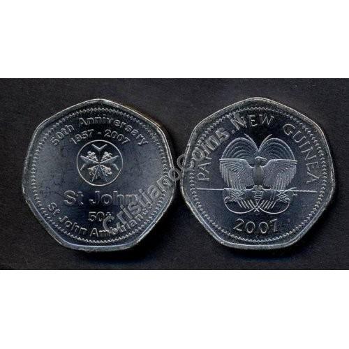 PAPUA NEW GUINEA 50 Toea...