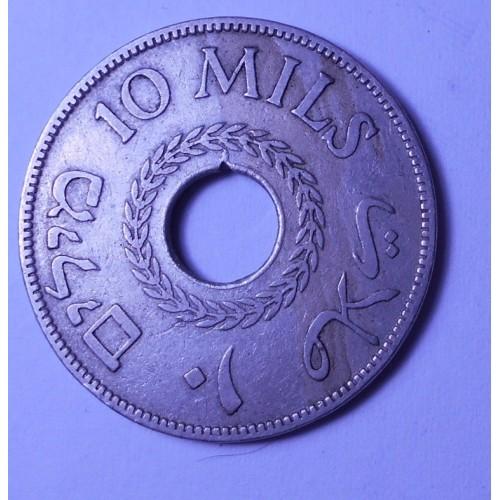 PALESTINE 10 Mils 1934