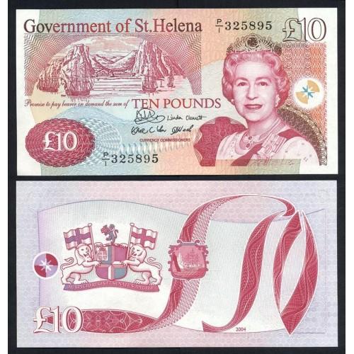 SAINT HELENA 10 Pounds 2004