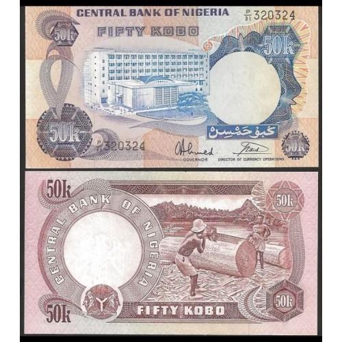 NIGERIA 50 Kobo 1973/78