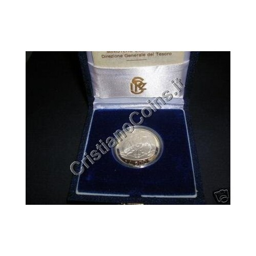500 Lire 1987 ANNO DELLA...