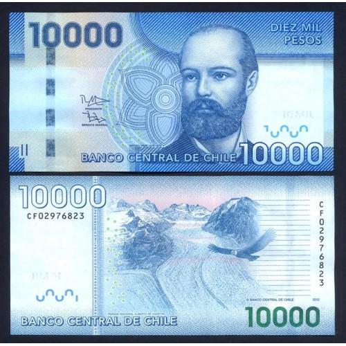CHILE 10.000 Pesos 2012