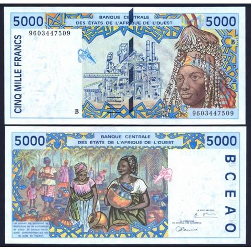 BENIN ( W. A. S. ) 5000...