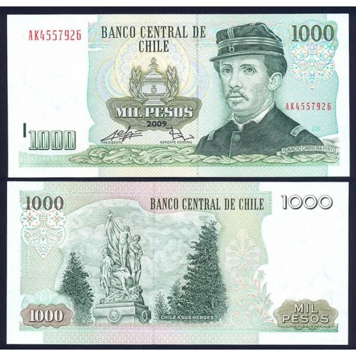 CHILE 1000 Pesos 2009