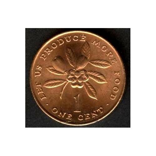 JAMAICA 1 Cent 1971 FAO