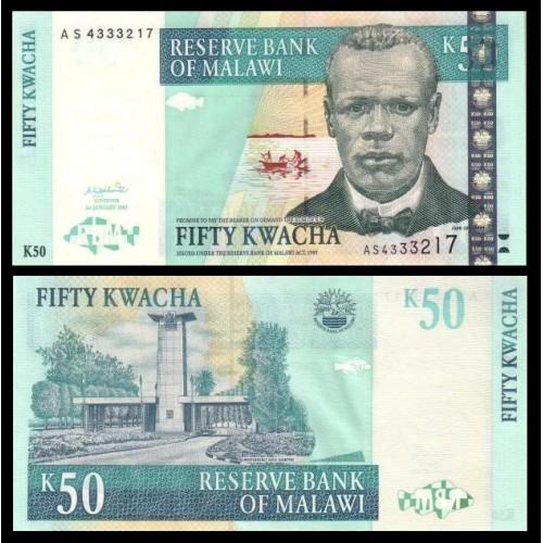 MALAWI 50 Kwacha 2003