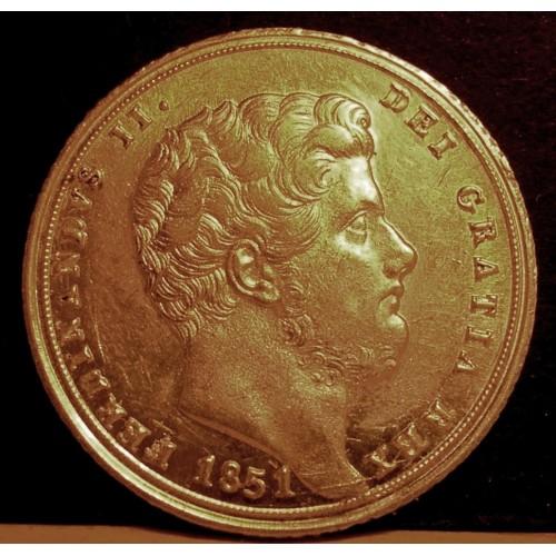 FERDINANDO II TARI' 1851 AG