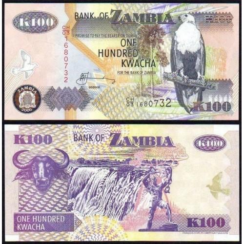 ZAMBIA 100 Kwacha 2006