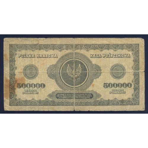 POLAND 500.000 Marek 1923